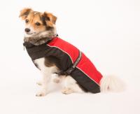 Dog Gone Smart | Jacke Aspen in Rot/Schwarz