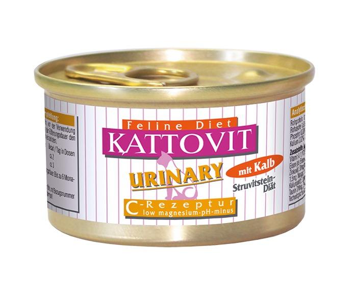 Kattovit | Feline Diet Urinary mit Kalb