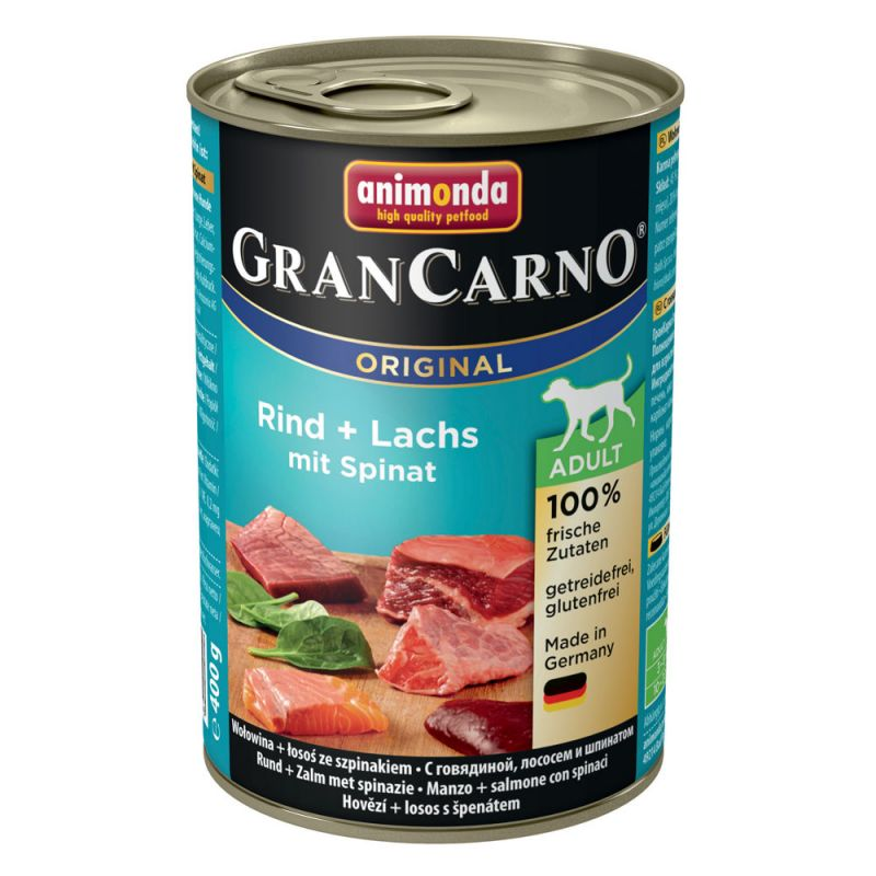 Animonda | GranCarno Adult Seelachs & Spinat