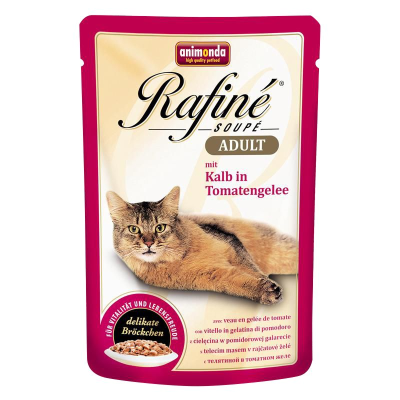 Animonda | Rafiné Soupé mit Kalb in Tomatengelee