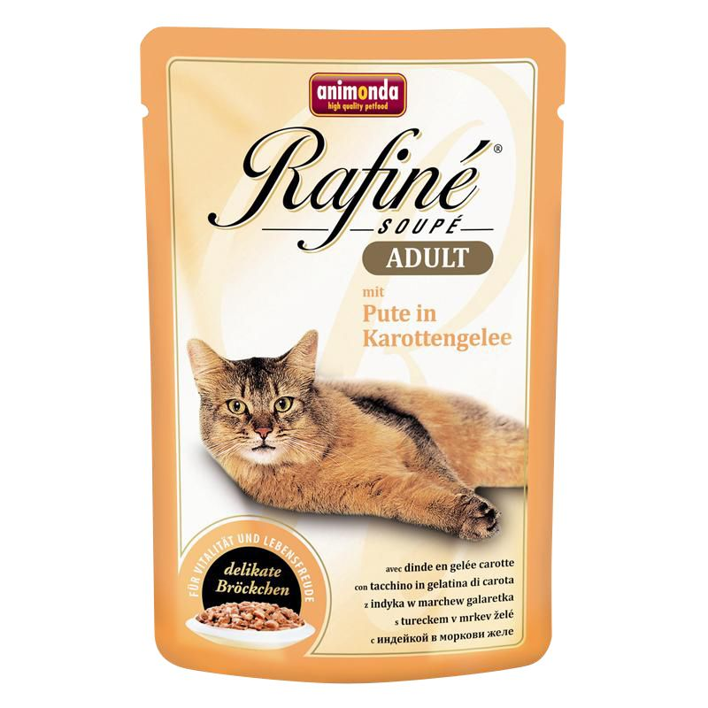 Animonda | Rafiné Soupé mit Pute in Karottengelee