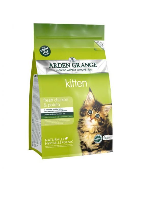 Arden Grange | Kitten Chicken & Potato