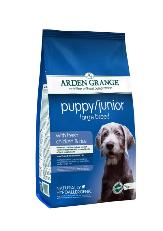 Arden Grange | Puppy Junior Large Breed Chicken & Rice