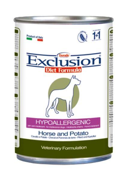 Exclusion | Diet Formula Hypoallergenic Pferd und Kartoffel