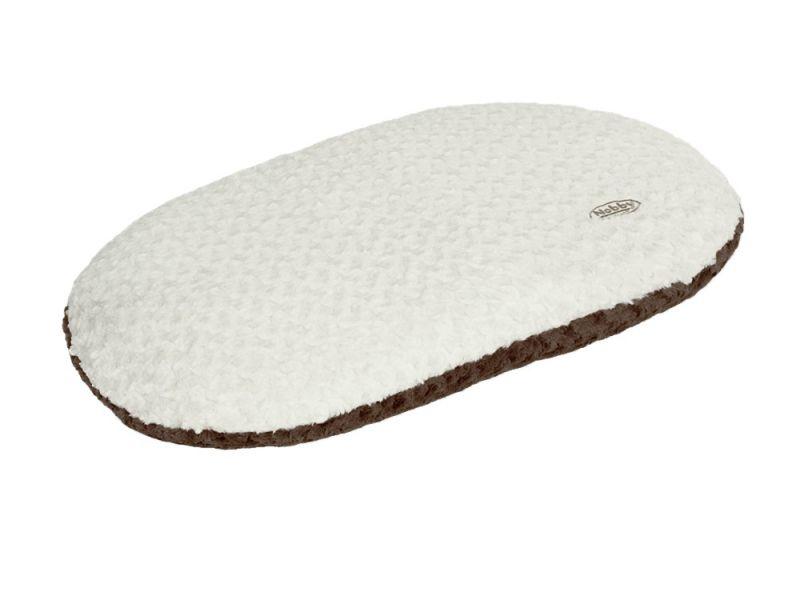 Nobby | Kissen oval NEIKU braun-weiß