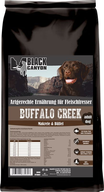 Black Canyon | Buffalo Creek Büffel & Makrele