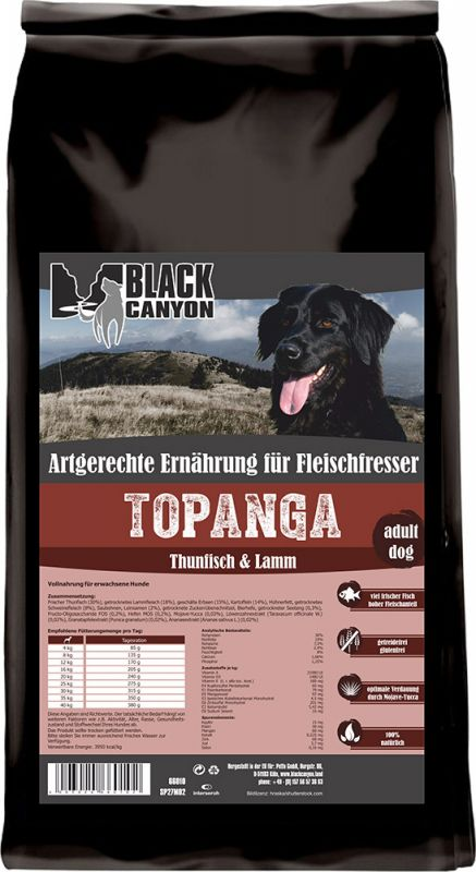 Black Canyon | Topanga mit Thunfisch & Lamm