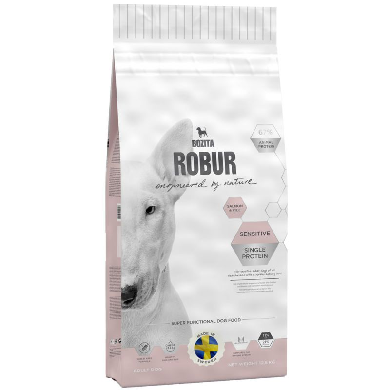 Bozita   Robur Sensitive Single Protein Salmon & Rice