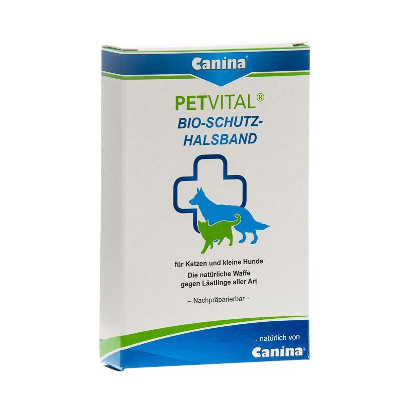 Canina | Petvital Bio-Schutz-Halsband - schwarz