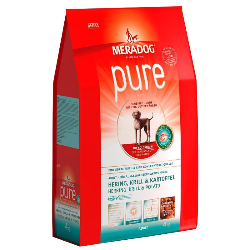 Mera Dog | Pure Hering, Krill & Kartoffel