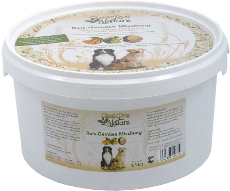 Classic Dog | Nature - Reis-Gemüse Mischung