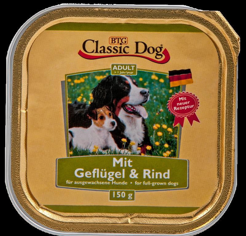 Classic Dog | Schale Geflügel & Rind