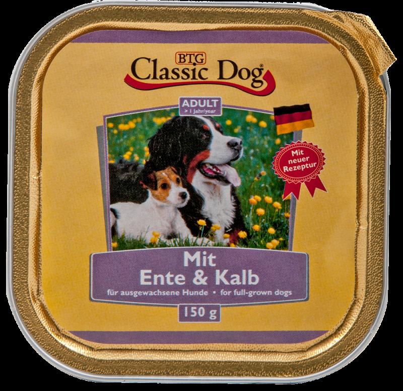 Classic Dog | Schale Ente & Kalb