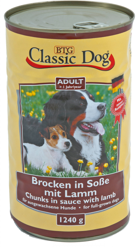 Classic Dog | Adult - Brocken in Soße mit Lamm