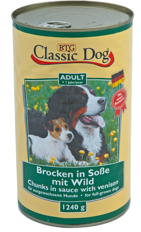 Classic Dog | Adult - Brocken in Soße mit Wild