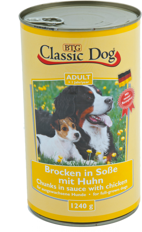 Classic Dog | Adult - Brocken in Soße mit Huhn