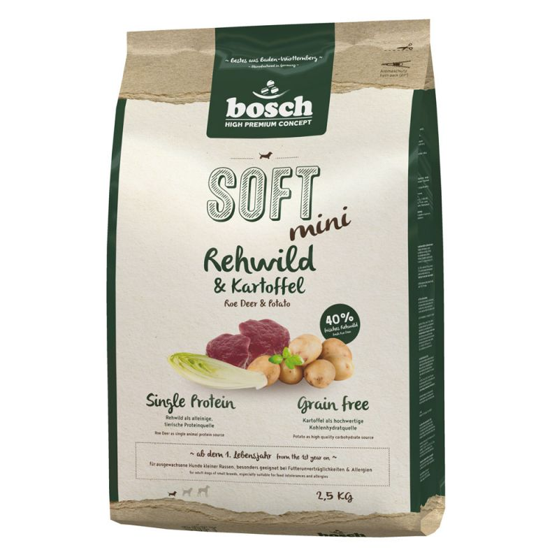 Bosch   High Premium Concept Soft+ Mini Rehwild & Kartoffel