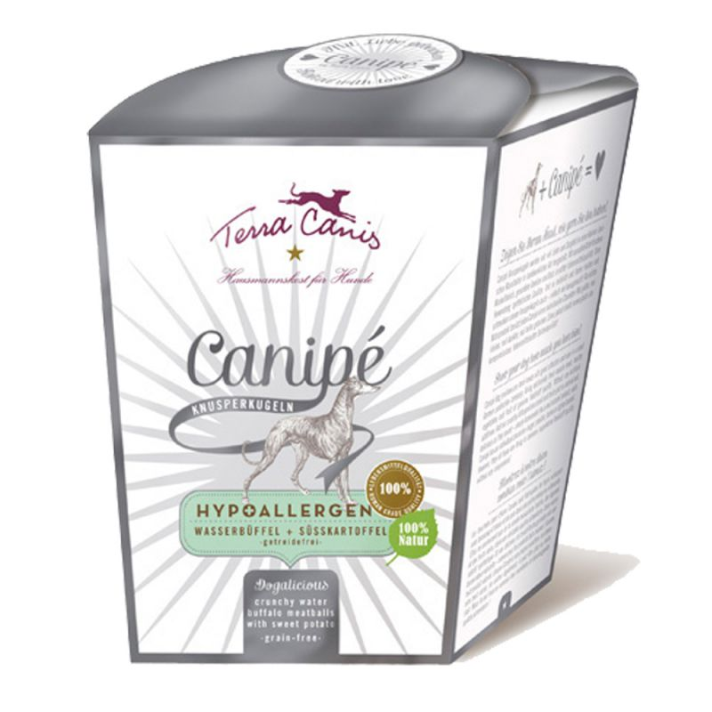Terra Canis | Snack Canipé Wasserbüffel Hypoallergen