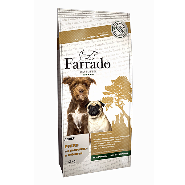 Farrado | Pferd mit Kartoffeln & Erbsen