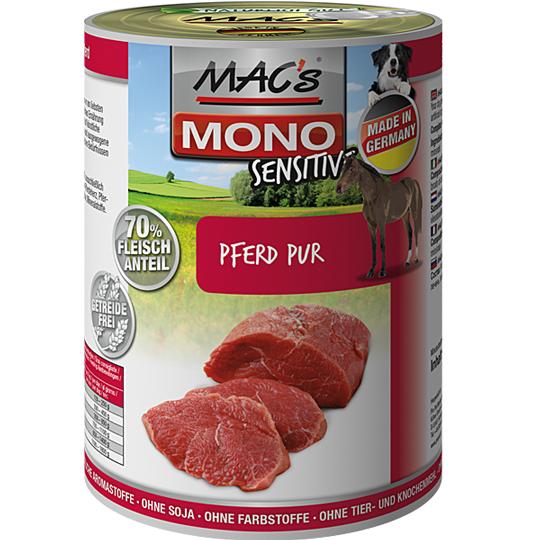 MAC's | Mono Sensitive Pferd Pur