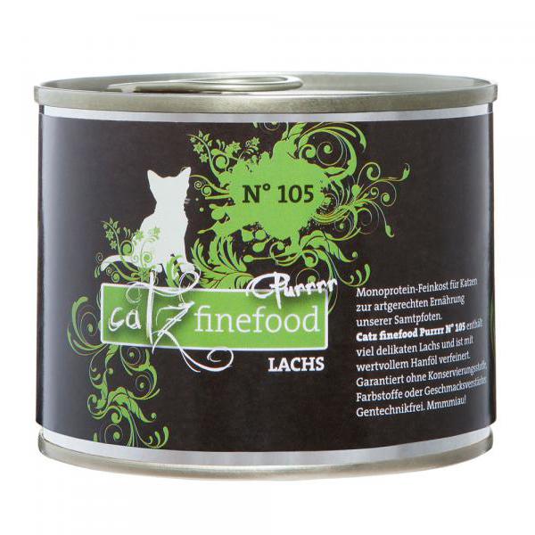 Catz finefood   Purrrr No. 105 Lachs