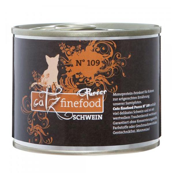 Catz finefood | Purrrr No. 109 Schwein