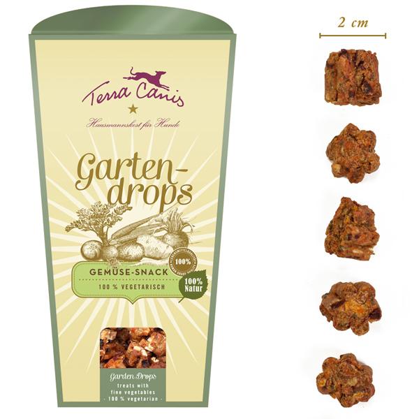 Terra Canis | Gartendrops Gemüse Snack