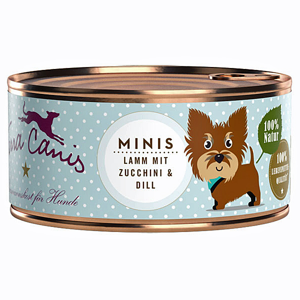 Terra Canis   Minis Lamm mit Zucchini & Dill
