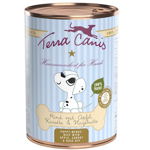 Terra Canis | Rind mit Apfel, Karotte und Hagebutte