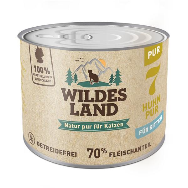 Wildes Land | Nr. 7 Huhn PUR für Kitten