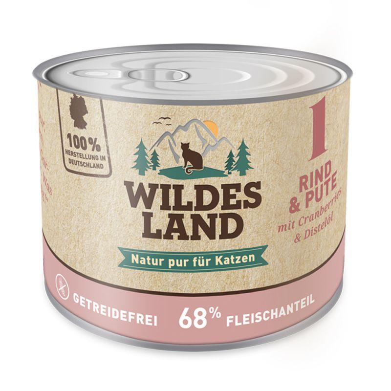 Wildes Land   Nr. 1 Rind und Pute