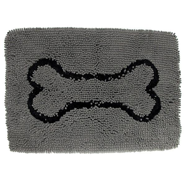 Dog Gone Smart | Dirty Dog Doormat grau