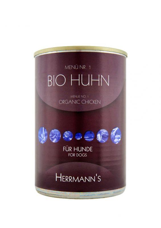 Herrmann's | Bio Huhn mit Karotte und Reis