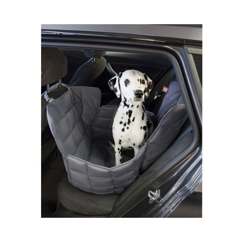 Doctor Bark | 1-Sitz Autodecke grau