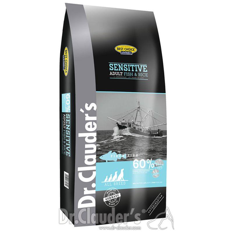 Dr. Clauder's | Best Choice Lifycycle Sensitive Fisch und Reis