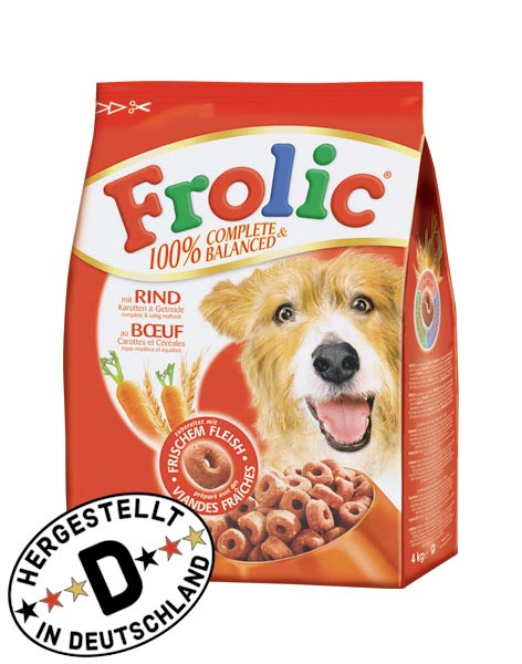 Frolic | Rind, Karotten und Getreide