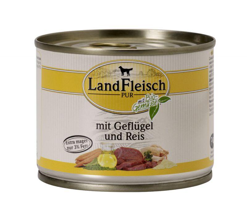 LandFleisch | Pur Geflügel & Reis extra mager