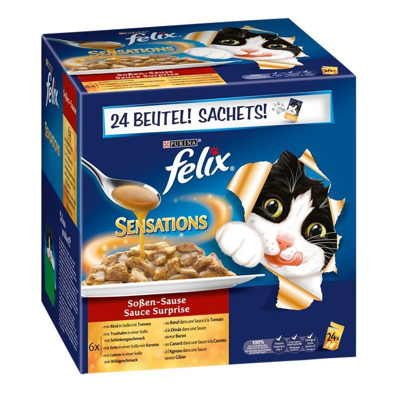 Felix | Sensations Saucen Surprise Multipack