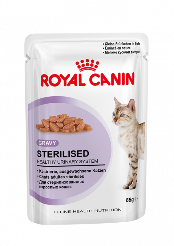 Royal Canin | Feline Health Nutrition Sterilised in Soße