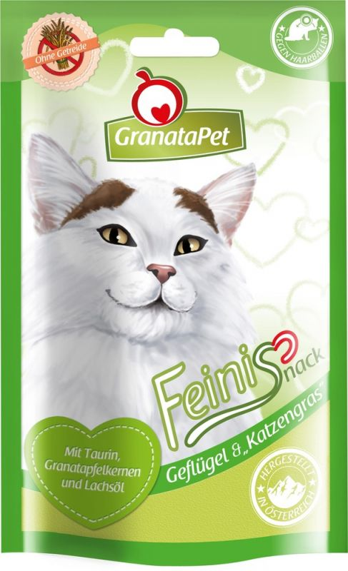 GranataPet | Feinis Geflügel & Katzengras
