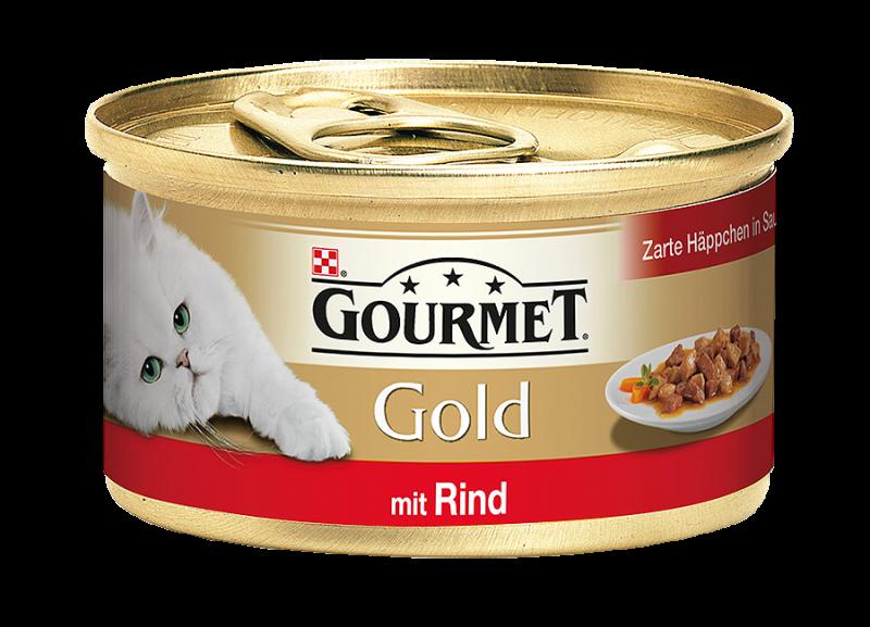 Gourmet | Gold Zarte Häppchen in Sauce mit Rind