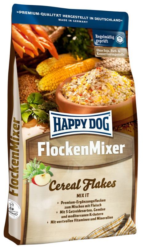 Happy Dog | Flocken Mixer
