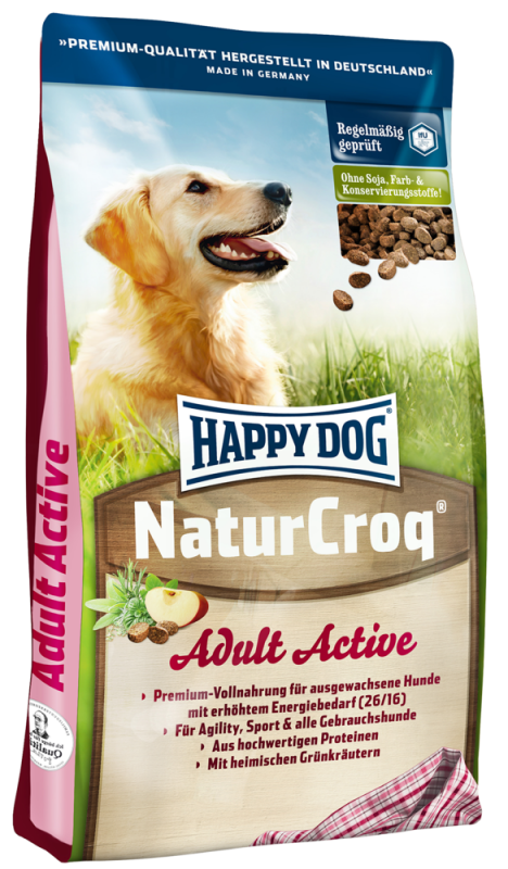 Happy Dog | NaturCroq Active