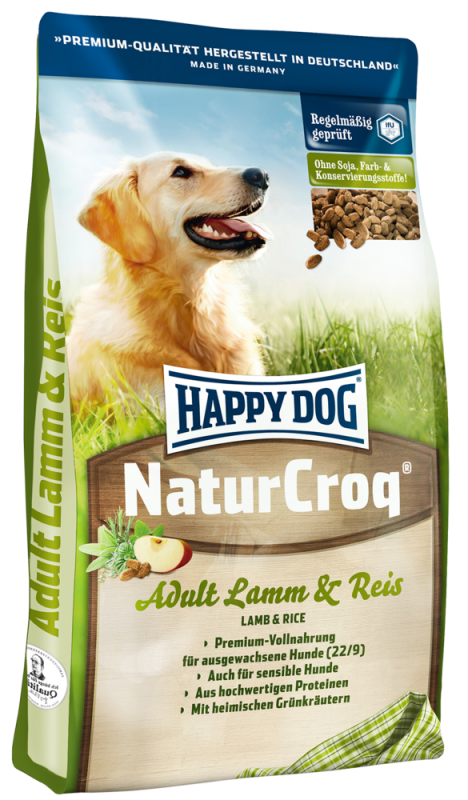 Happy Dog | NaturCroq Lamm & Reis