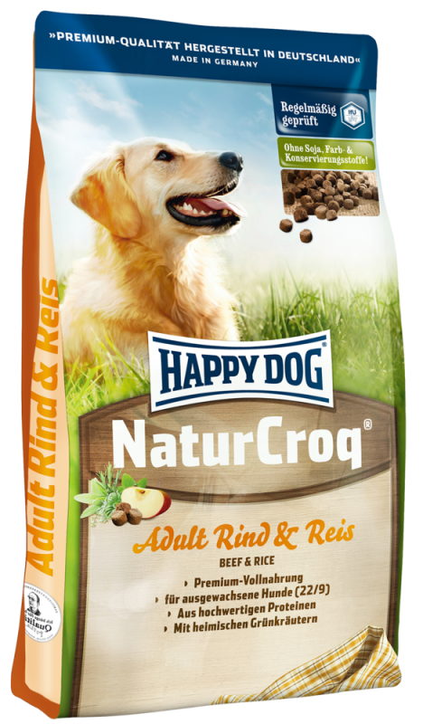 Happy Dog | NaturCroq Rind & Reis