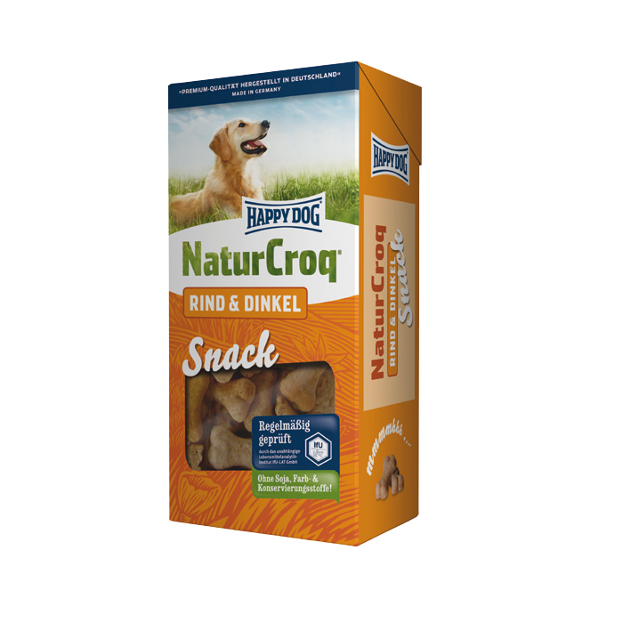Happy Dog | Natur Snack Rind & Dinkel