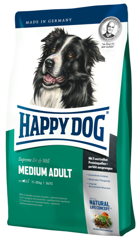Happy Dog | Supreme Fit & Well Medium Adult