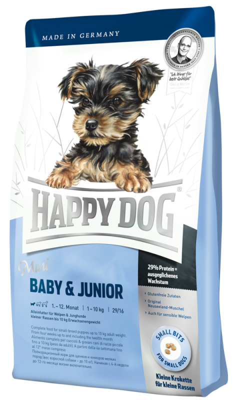 Happy Dog | Mini Baby & Junior