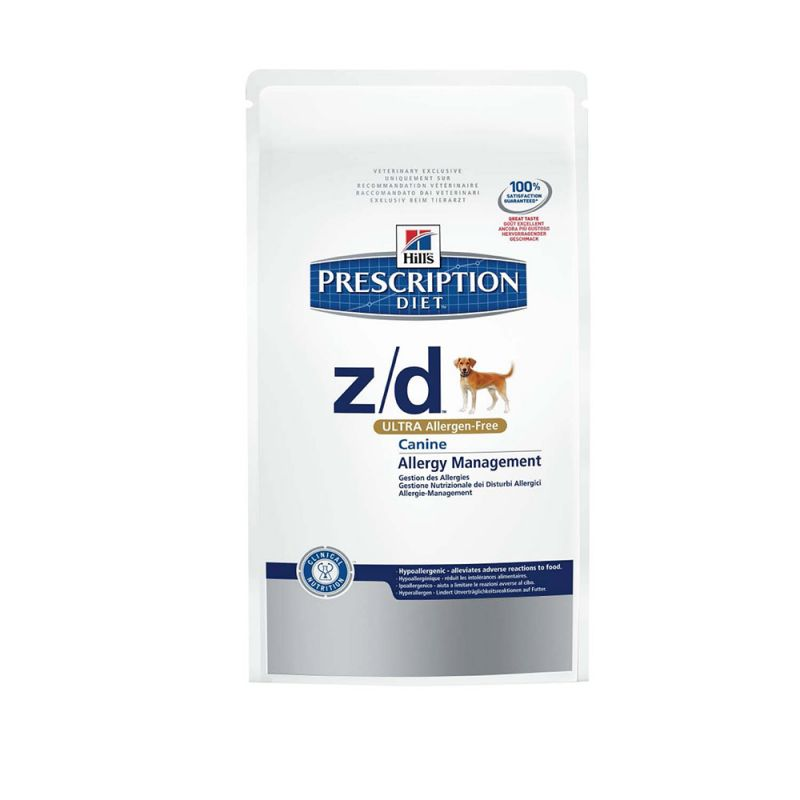 Hill's | Prescription Diet Canine z/d Allergy and Skin Care