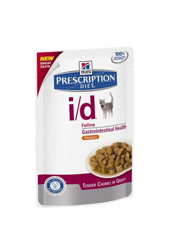 Hill's | Prescription Diet i/d Feline Zarte Stückchen in Soße mit Huhn